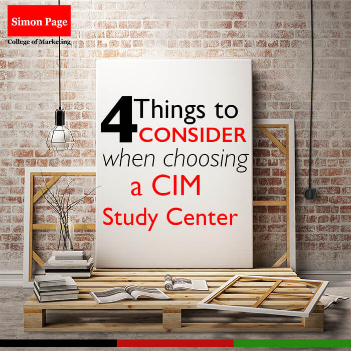 4 Things To Consider When Choosing a CIM Study Center