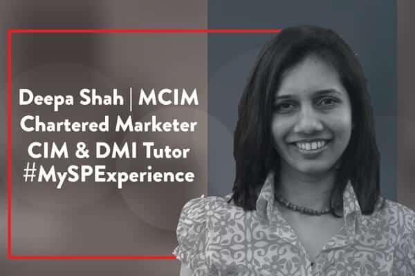 Deepa Shah| MCIM| Chartered Marketer