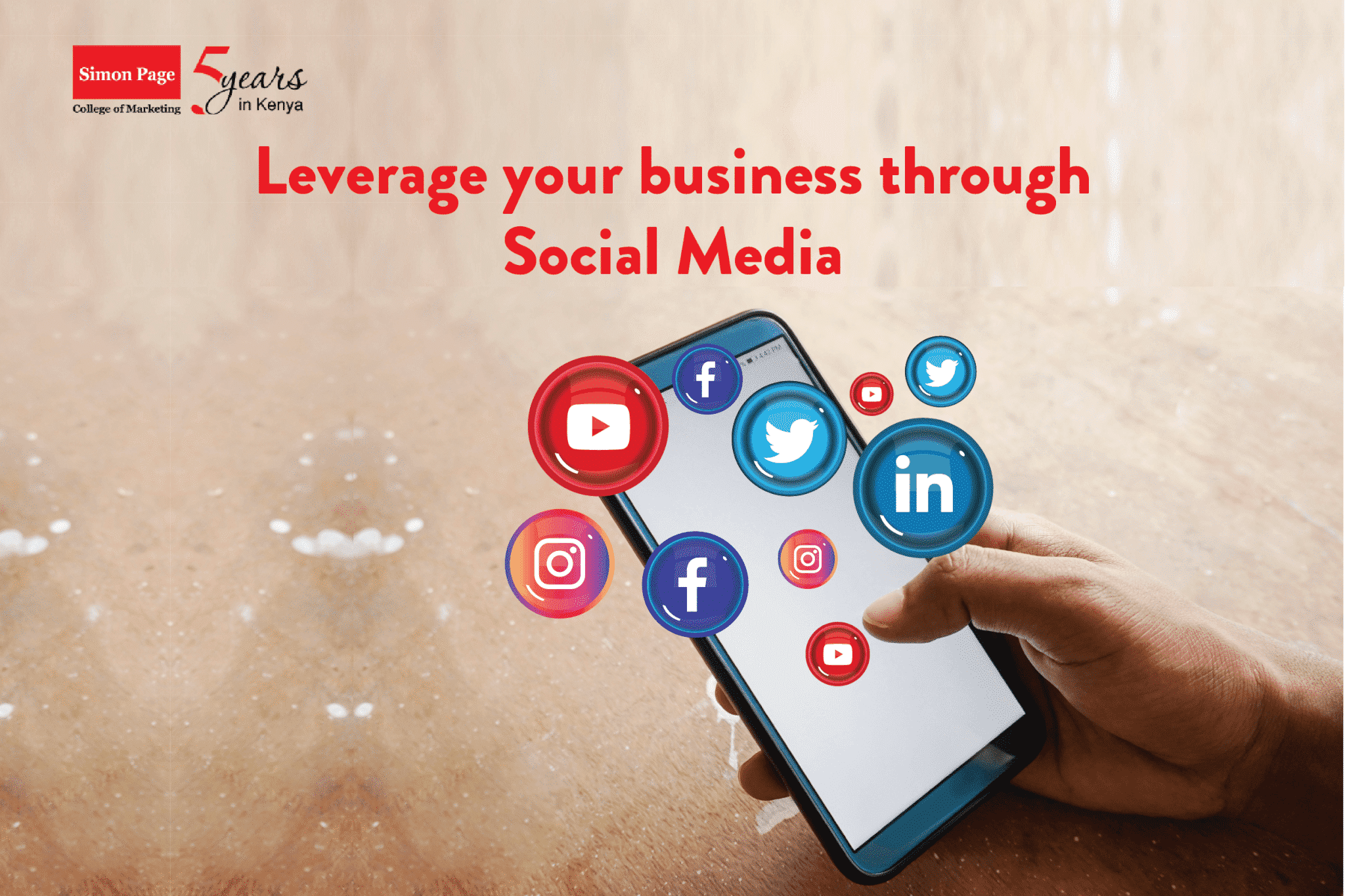 Leverage your business on social media
